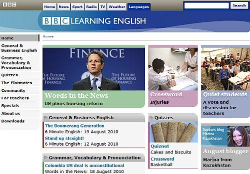 learn to speak english bbc