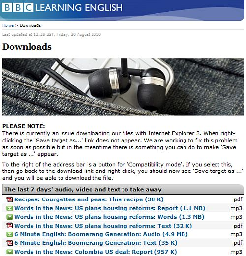 .bbc.co.uk - Learn or Improve Your English with BBC Learning English