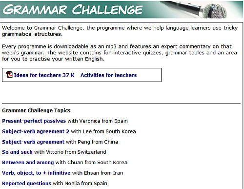 learn english grammar free online