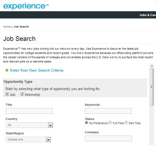 7 sites to help your college students job search