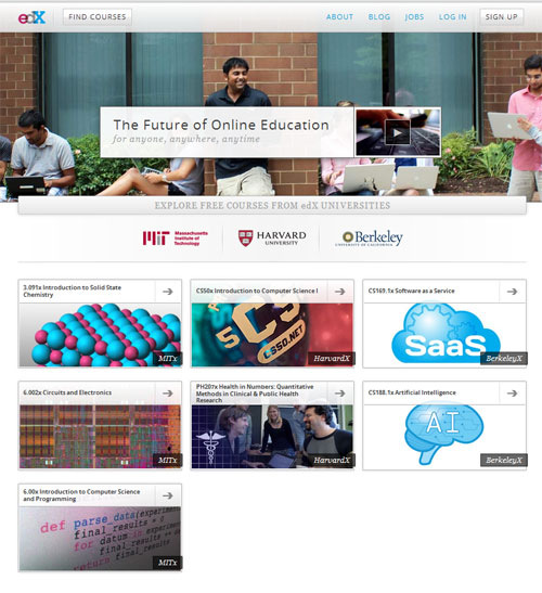 Free Online Courses From Harvard, Berkeley And MIT