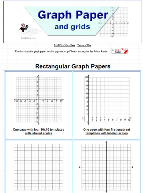 10 Sites To Print Different Graph Paper For Your Projects. Printable Graph Paper. Worksheet. Graph Worksheet Generator At Clickcart.co