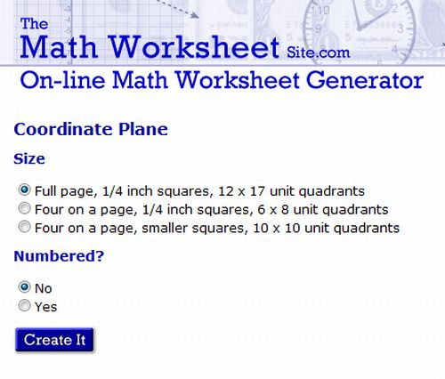 10 Sites to Print Different Graph Paper for Your Projects – The Maths Worksheet Site