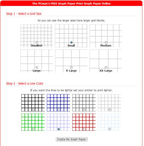 10 Sites to Print Different Graph Paper for Your Projects – Regular Graph Paper