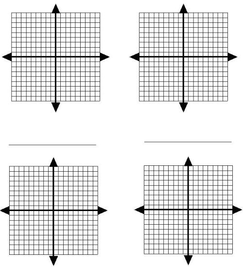 Blank Graph Paper With X And Y Axis Numbered Graph paper to print