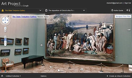google art gallery
