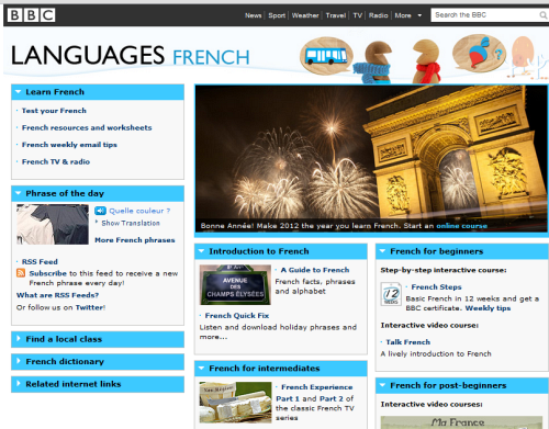 5 Great Websites for Learning French
