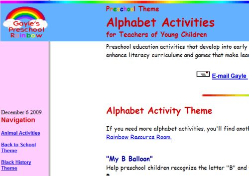 The Top Ten Online Lesson Plans For Learning Abc'S