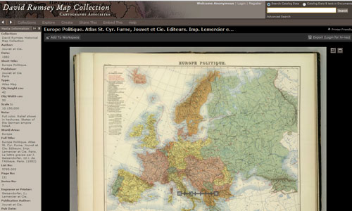 Historical Maps Online