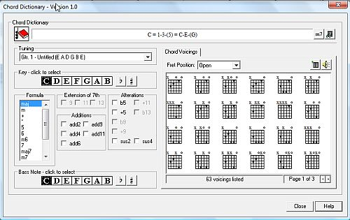 Guitar guitar tablature notes : Power Tab - Free Guitar Tab Software for Teaching or Fun