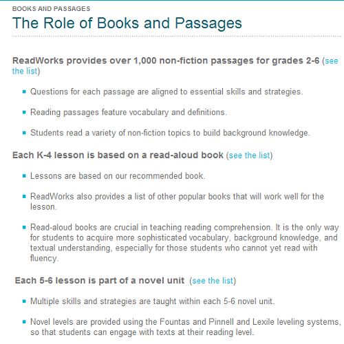 Books Passages at Readworks.org
