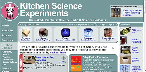 10 Websites To Find Cool Science Experiments For Kids