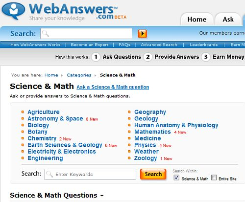 Best Websites for Students to Ask Science Questions