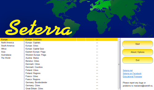 Test Geography Knowledge with the Seterra Geography Game