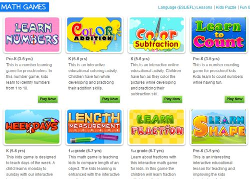 7 More Cool Math Games for your Toddler