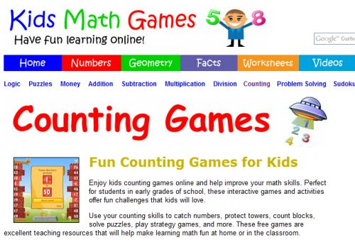 math games kids