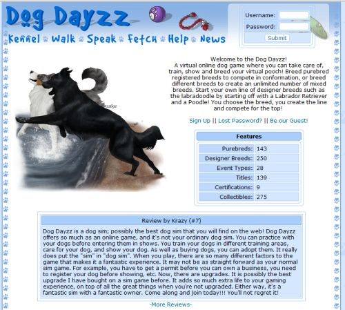 Image of: Kids Dog Dayzz Virtual Online Dogs 10 Virtual Pet Games That Can Teach Kids Important Lessons