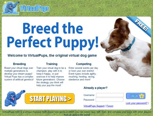 Dog Games - Free online Dog Games for Girls - GGG.com ...